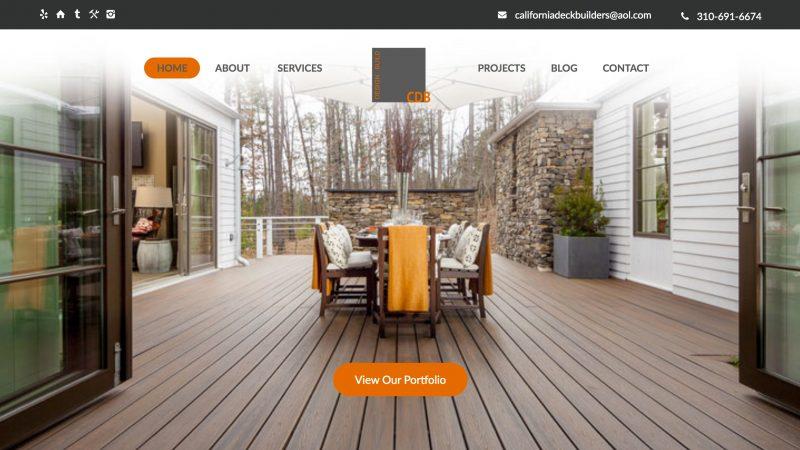 California Deck Builders, Inc.